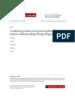 Combining Modern Assessment Methods to Improve Understanding of l