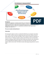 Performence Evalution Form