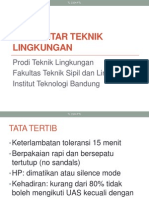 Pengantar Teknik Lingkungan ITB