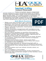 Aerial Lifts Safety
