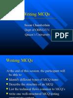 Writing MCQs