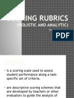 scoring-rubrics