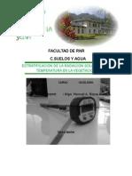 Estratificacion de La Radiacion Solar