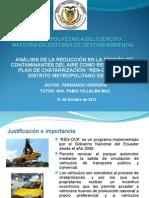 Plan de Chatarrizacion en El Ecuador
