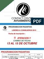 ContactCenterPasantias V2015 Parque