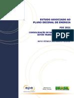 Consolidação de Bases de Dados Do Setor Transporte 1970-2010 - PDE 2021