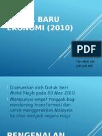 Model Baru Ekonomi 2010