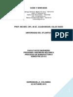 Guías y Bancadas Trabajo Grupo 11