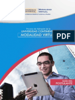 Guia Postulante Continental Virtual