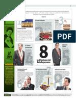8 Instituciones Del Estado Peruano