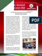 Boletín Around the World 088.