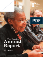 The Reader Annual Report 2014-15