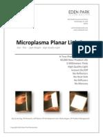 Microplasma Planar Lighting-By Eden Park Illumination