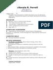 resume -internet