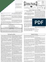 Issue 334 - Parashat Vayikra - Living Torah