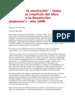 Durruti y La Revolución