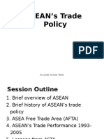 ASEAN's Trade Policy