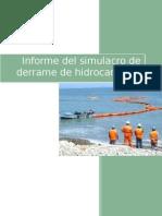 informe de simulacro 2015