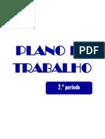 Plano de trabalho - 2.º período