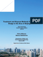 Treatment and Disposal Methods for Wastewater