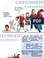 Crecimiento y Desarrollo PEDIATRIA