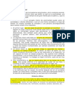 Unid 2 - Psicopatologia de La Niñez