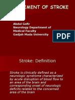 Management of Stroke-Mei2012