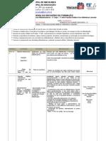AGENDA  COMENTADA ENCONTRO DE FORMAÇÃO 2ª ETAPA 1º MÊS.doc