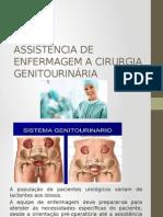 Assistência de Enfermagem a Cirurgia Geniturinária