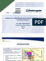 07 SEPTIMA EXPOSICION, Riesgos en La Profundización de Minas Subterraneas. Caso Mina Yauliyacu, Jaime Tapia_v2