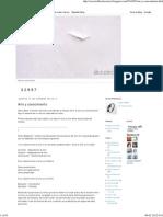 Docencia Oscar Robles_ Arte y Conocimiento