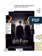 Harry Potter - Poster Deconstruction