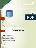 Estructuras de Control T-SQL