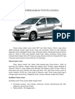 Analisis Toyota Avanza DI PADANG