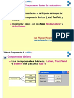 Java Componentes AWT