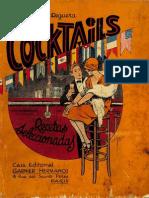 1930 Cocktails Recetas Seleccionadas by Miguel R Reguera