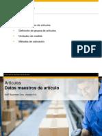 Articulos SAP