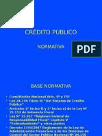 024 Credito Publico Normativa