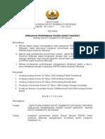 SK Kebijakan Penerimaan Pasien Gawat Darurat