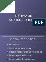 Sistema Control Externo