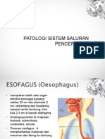 Patologi saluran pencernaan