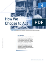 How We Choose to Act