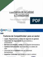 Importancia de La Calidad y Productividad Qf 030211[1]