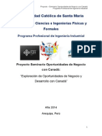 Proyecto Exp a Canada