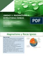magmatismo  y estructuras ígneas