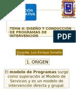 Programas de Intervencion
