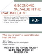 Creating Economic and Social Value in the Hvac Industry