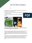 Impresoras Sin Tinta Ni Papel y en 3D