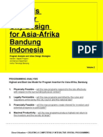 Towards a Better City Design for Asia Afrika (Vol.2)