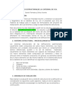 DIAGNÓSTICO ESTRUCTURALDE LA CATEDRAL DE ICA.